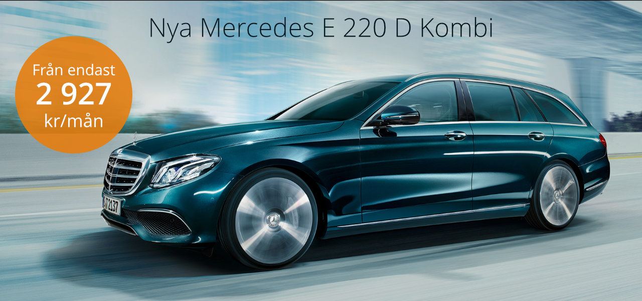 <h1>Mercedes E 220 D Business Utrustad</h1>