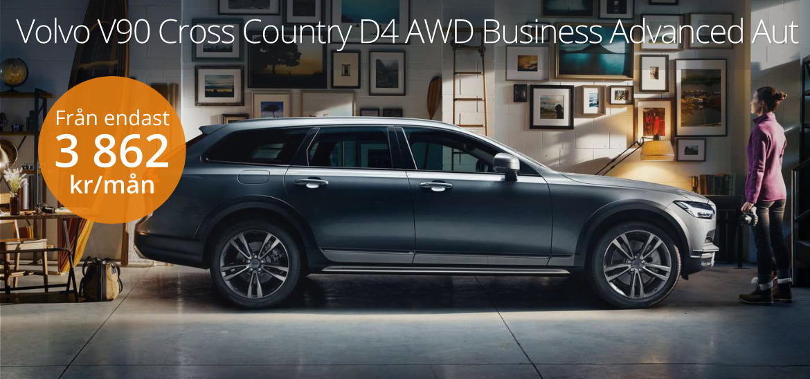 <h1>Volvo V90 Cross Country D4 AWD Business</h1>