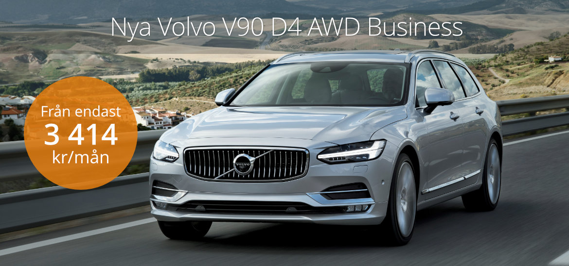 <h1>Volvo V90 D4 AWD Business</h1>