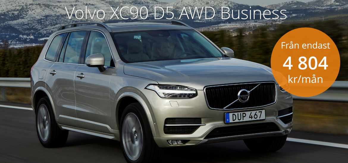 <h1>Volvo XC90 D5 AWD Business</h1>