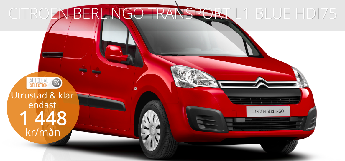 <h1>CITROÉN BERLINGO TRANSPORT L1 BLUEHDI 75</h1>
