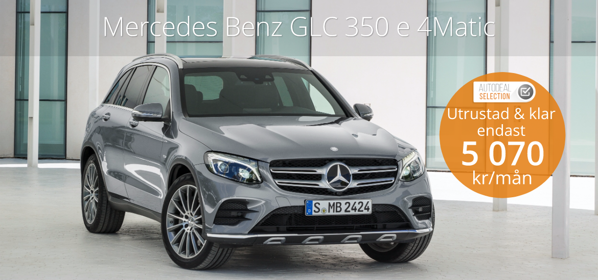 <h1>Mercedes Benz GLC 350e 4MATIC</h1>