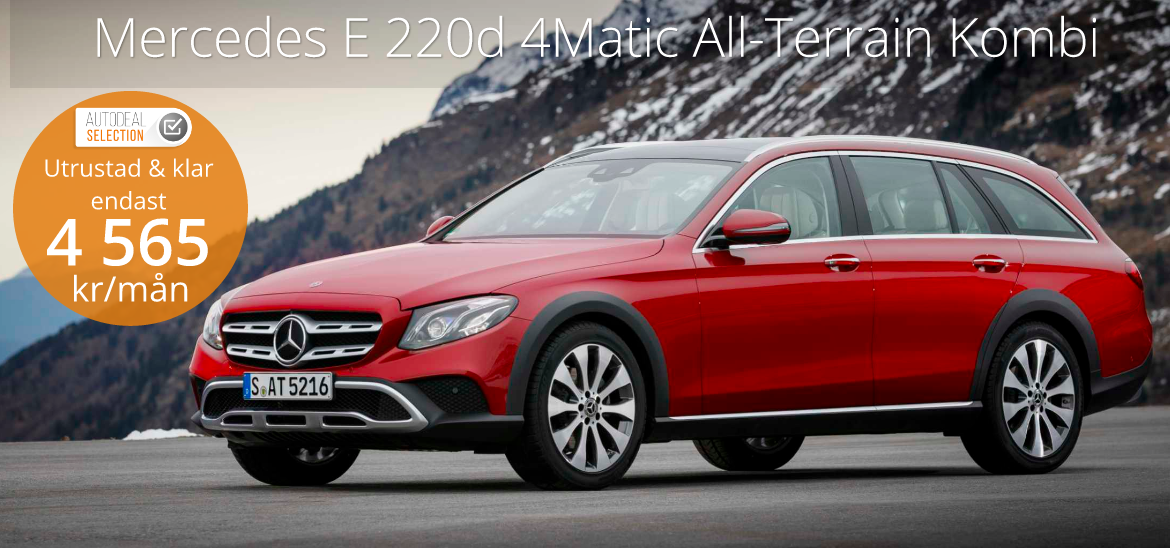 <h1>Mercedes E 220 d 4 MATIC All-Terrain Kombi</h1>