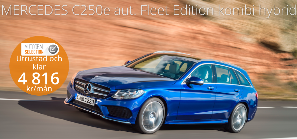 <h1>Mercedes Benz C 350 e aut. FleetEdition Kombi Hybrid</h1>