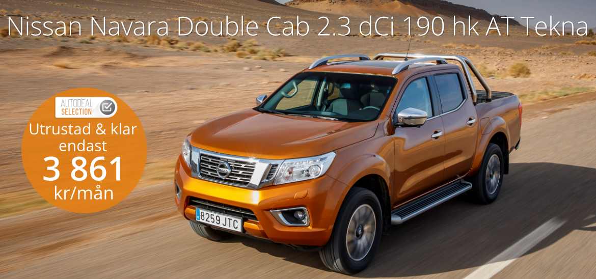 <h1>NISSAN Navara Double Cab 2.3 dCi 190hp AT Tekna</h1>