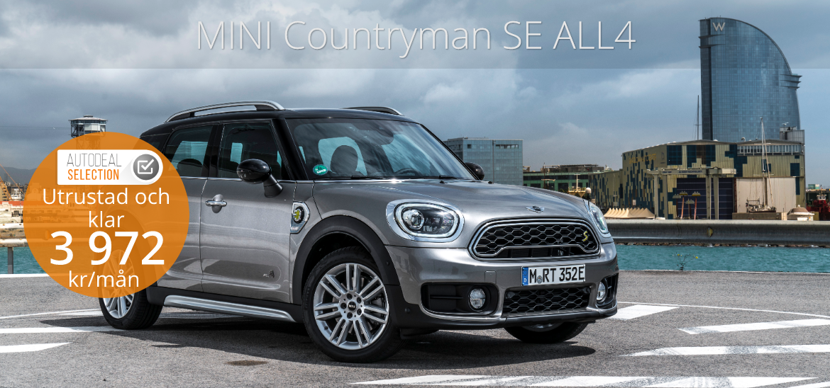 <h1>Mini Countryman Plug-in Hybrid All4 (49 g/km)</h1>