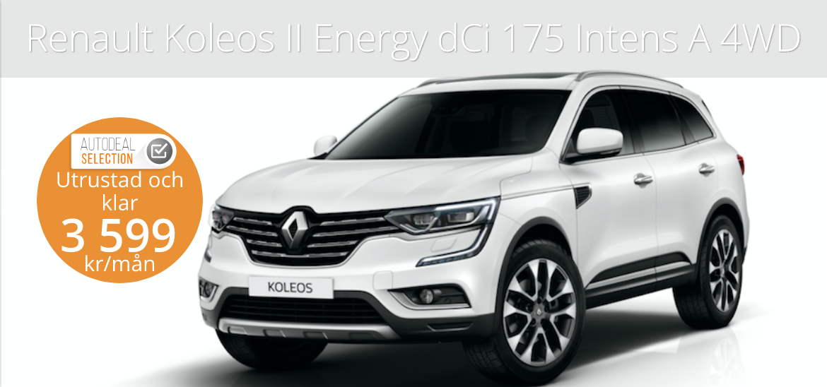 <h1>Renault Koleos II Energy dCi 175 Intens A 4WD</h1>