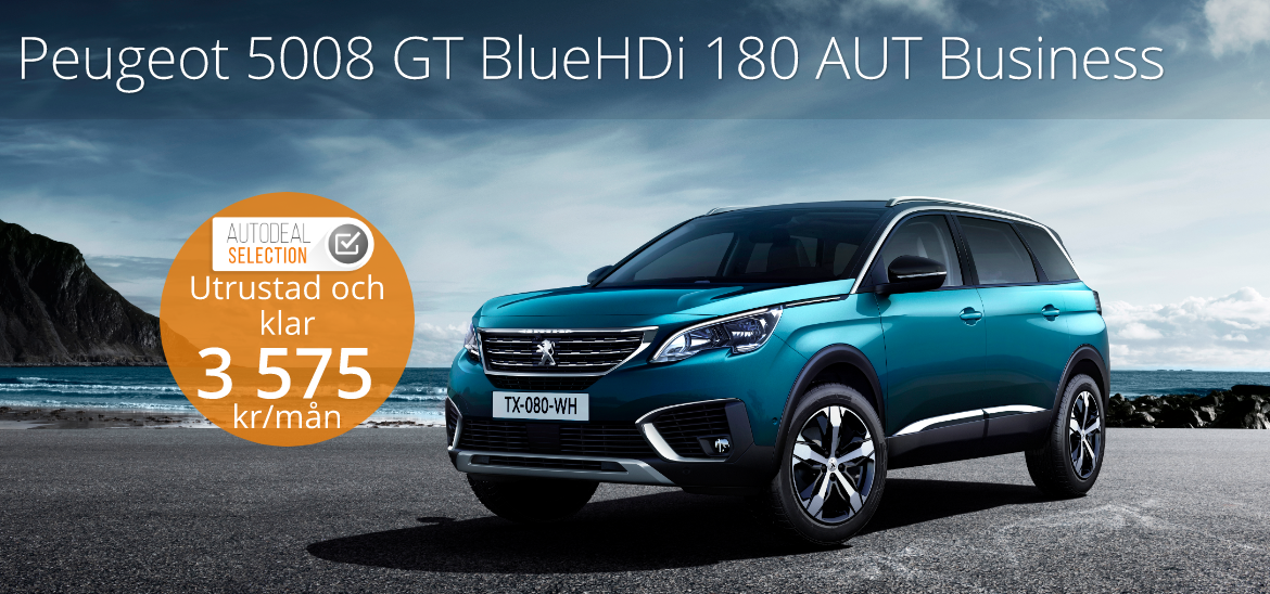 <h1>Peugeot 5008 GT BlueHDi 180 AUT Business Premium</h1>
