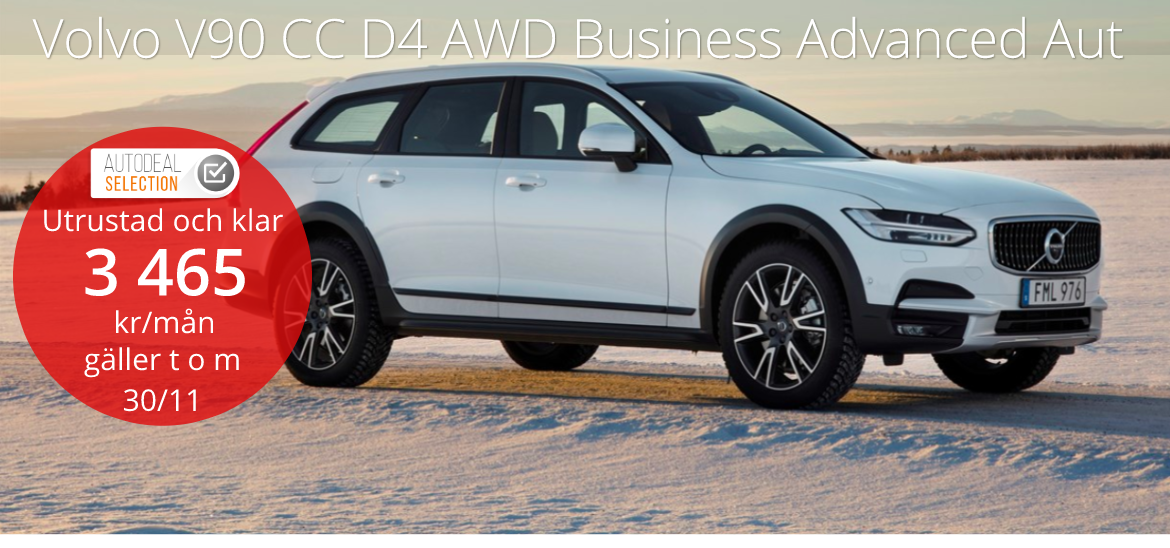 <h1>Volvo V90 Cross Country D4 AWD Business Aut</h1>