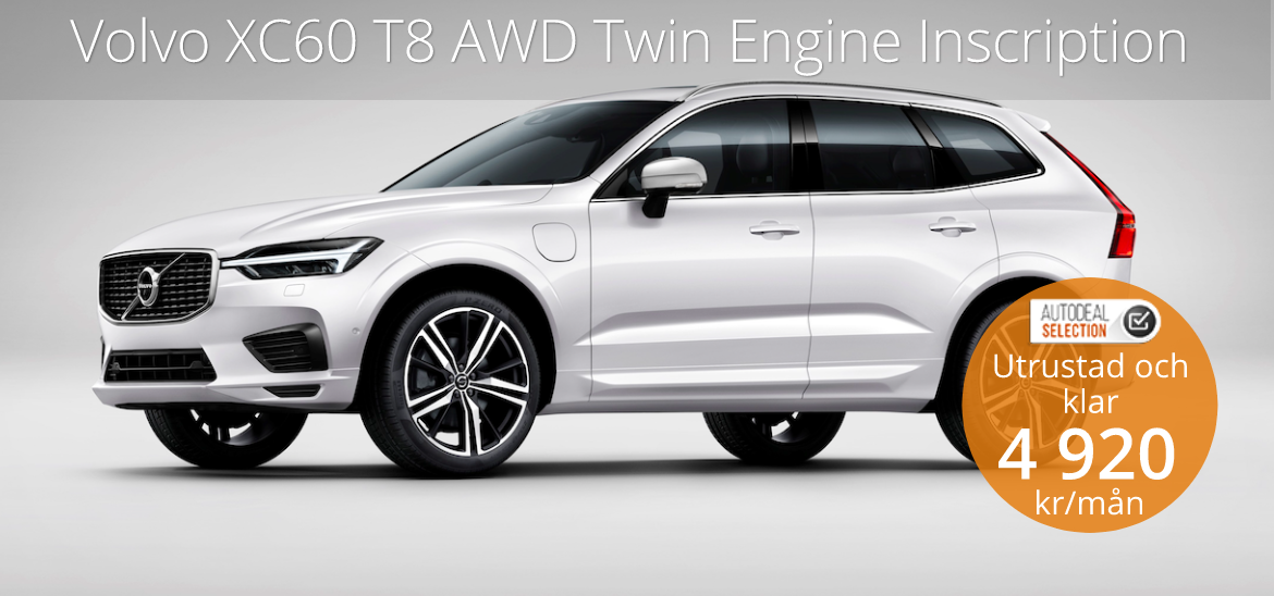 <h1>Volvo XC60 T8 AWD Twin Engine Inscription</h1>