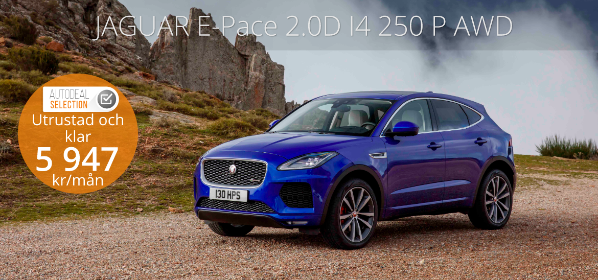 <h1>JAGUAR E-Pace 2.0D I4 250 P AWD Auto First Edition</h1>