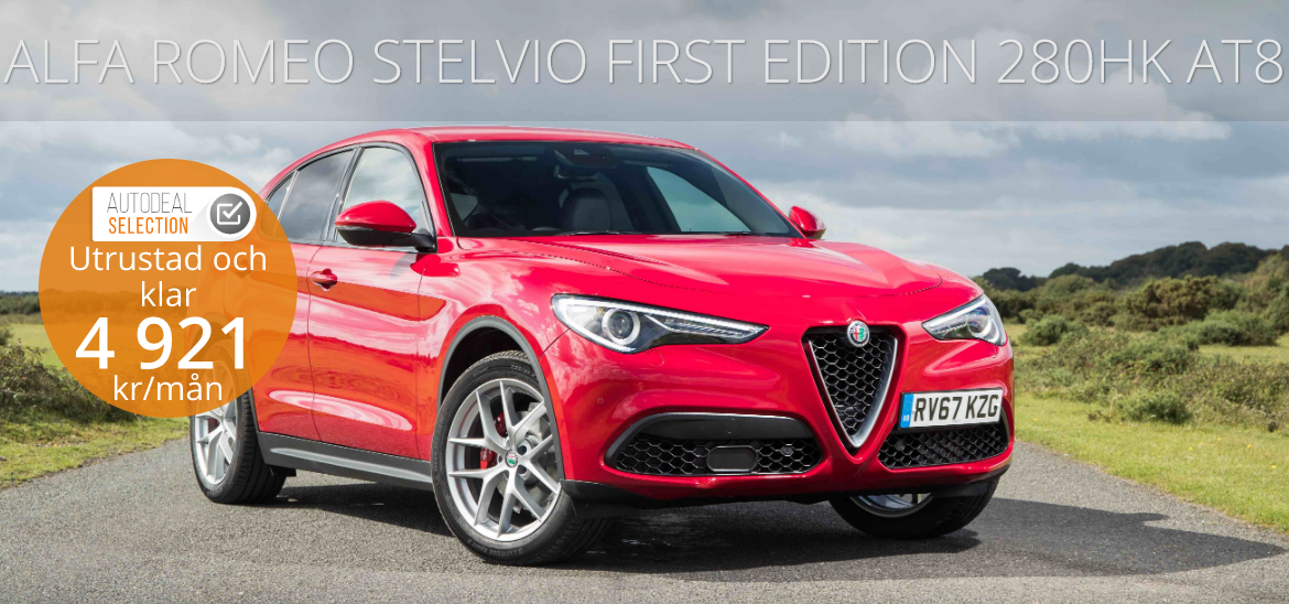 <h1>ALFA ROMEO STELVIO FIRST EDITION 280HK AT8</h1>