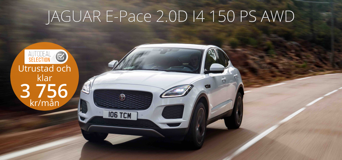 <h1>JAGUAR E-Pace 2.0D I4 150 PS AWD</h1>