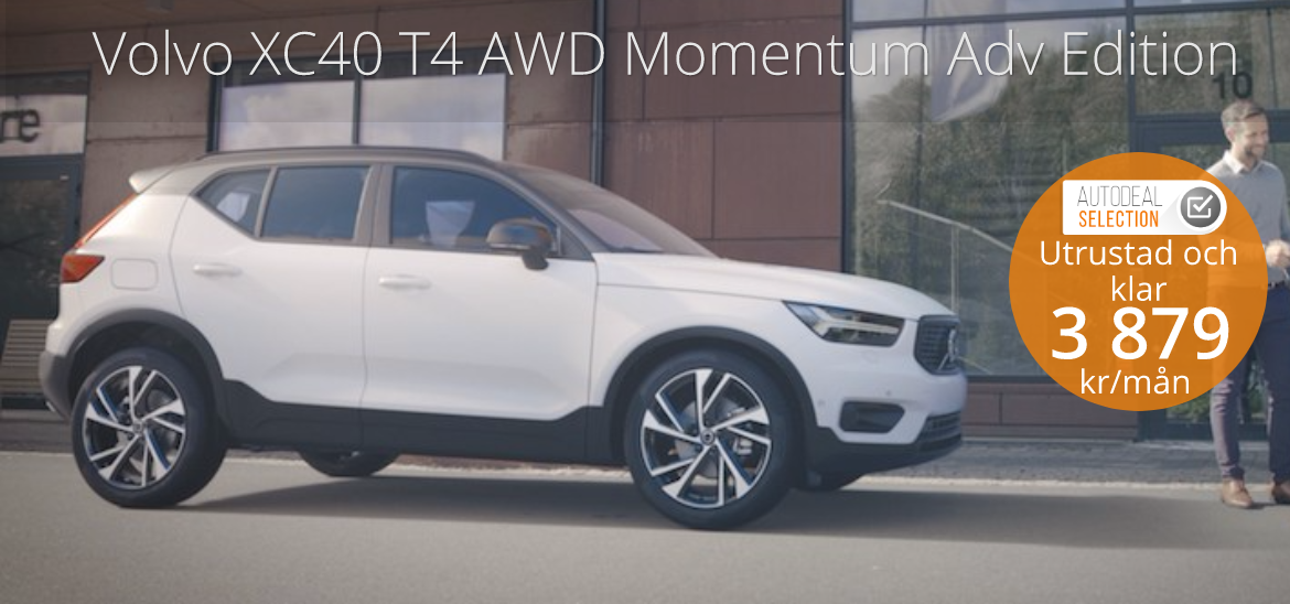 <h1>Volvo XC40 T4 AWD Advanced Edition</h1>