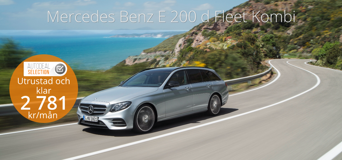 <h1>Mercedes Benz E 200d Fleet Kombi</h1>