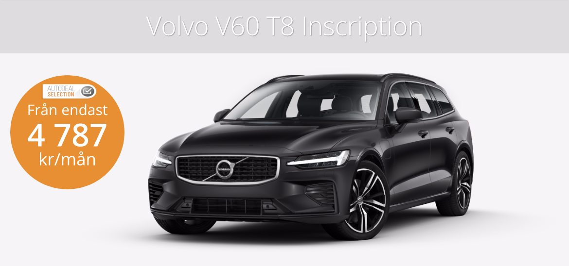 <h1>Volvo V60 T8 Inscription Kombi</h1>