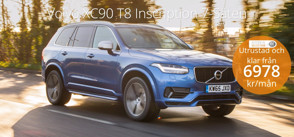 <h1>Volvo XC90 T8 Inscription 7-Säten</h1>