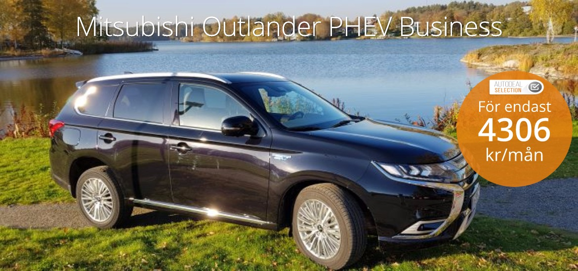 <h1>Mitsubishi Outlander PHEV 2019 Business</h1>