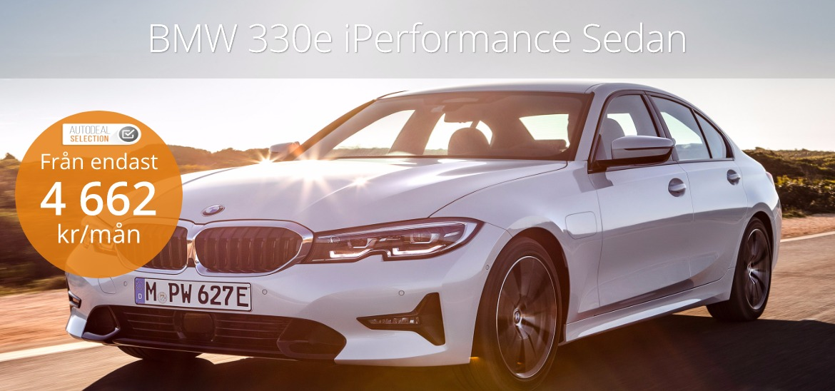 <h1>BMW 330e Plugin Hybrid iPerformance Sedan</h1>