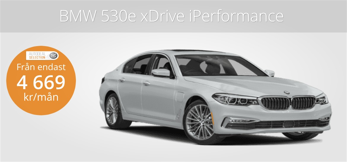 <h1>BMW 530e xDrive iPerformance Sedan</h1>
