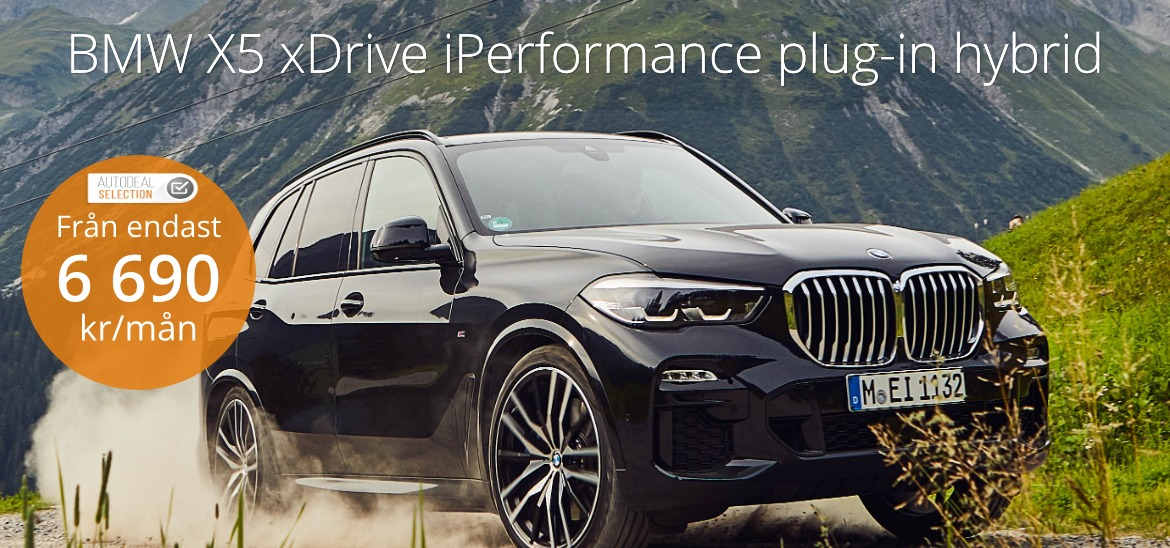 <h1>BMW X5 xDrive45e iPerformance Plug-in hybrid</h1>