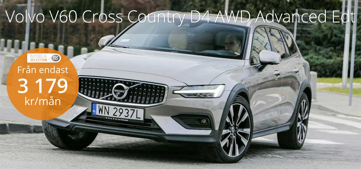 <h1>Volvo V60 Cross Country D4 AWD Advanced Edt</h1>
